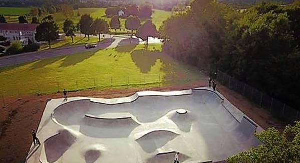 Eröffnung Skatepark Weingarten